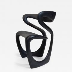 Thomas Vaughan S Chair in Ebonized Limed Oak by Object Studio - 1528629
