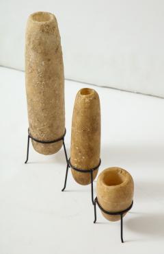 Three Egyptian Alabaster Amphores  - 937044