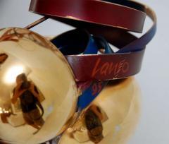 Three Metal Glass Sculptures - 247835