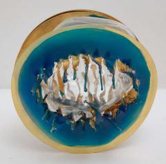 Three Metal Glass Sculptures - 247838