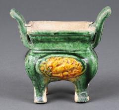 Three Miniature Ming Funeral Pieces Circa 1368 1644 - 1739038