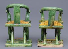 Three Miniature Ming Funeral Pieces Circa 1368 1644 - 1739040