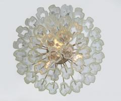 Three Tiered Tronchi Tube Murano Glass Chandelier by Camer - 775274