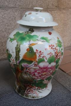 Three porcelain vases China XIXth century - 746772
