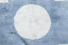 Tibetan Contemporary Silk Rug - 494311