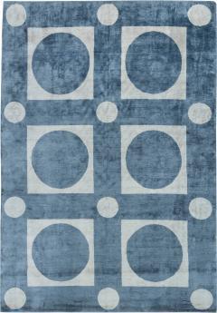 Tibetan Contemporary Silk Rug - 905693