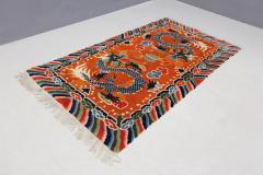 Tibetan dragons Carpet from the 20th century - 1191805