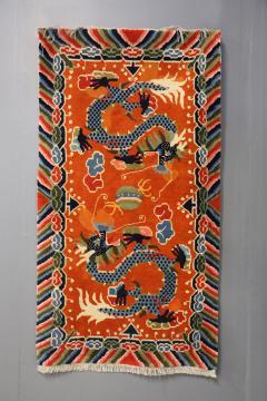 Tibetan dragons Carpet from the 20th century - 1191807