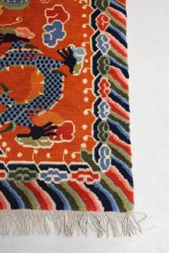 Tibetan dragons Carpet from the 20th century - 1191809