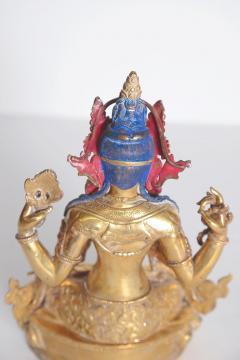 Tibetian Buddhist Deity Chenrezig Four Armed Avalokiteshvara - 2006909