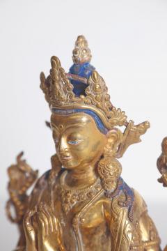 Tibetian Buddhist Deity Chenrezig Four Armed Avalokiteshvara - 2006911