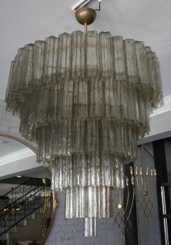 Tiered 1970s smoked glass murano chandelier tiered 1970s smoked glass murano chandelier 232453 mozeypictures Image collections