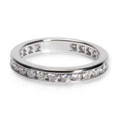 Tiffany Co Channel Diamond Wedding Band in Platinum 0 33 CTW - 1364976