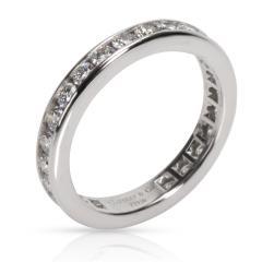 Tiffany Co Channel Diamond Wedding Band in Platinum 0 33 CTW - 1364977