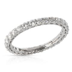 Tiffany Co Embrace Diamond Eternity Band in Platinum 0 85 CTW - 1364735