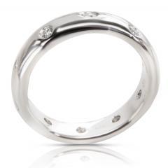 Tiffany Co Etoile Diamond Fashion Ring in Platinum 0 14 CTW - 1283285