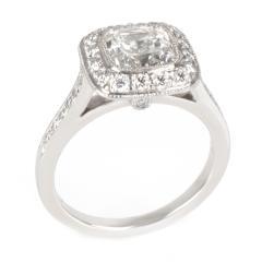 Tiffany Co Legacy Diamond Engagement Ring in Platinum G VS1 1 96 CTW - 1286636
