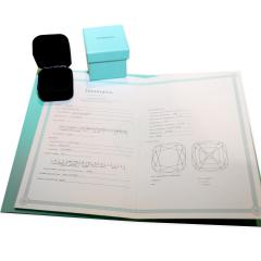 Tiffany Co Legacy Diamond Engagement Ring in Platinum G VS1 1 96 CTW - 1286638