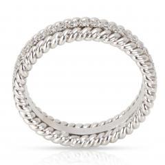 Tiffany Co Schlumberger Rope Diamond Eternity Band in Platinum 0 29 CTW - 1364599