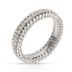 Tiffany Co Schlumberger Rope Diamond Eternity Band in Platinum 0 29 CTW - 1364600