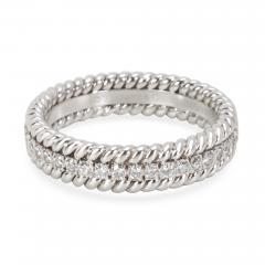 Tiffany Co Schlumberger Rope Diamond Eternity Band in Platinum 0 29 CTW - 1365776