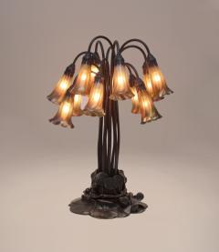 Tiffany Studios 12 Light Lily Table Lamp - 675037
