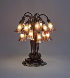 Tiffany Studios 18 Light Lily Table Lamp - 636022