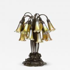 Tiffany Studios 18 Light Lily Table Lamp - 637702