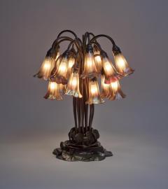 Tiffany Studios 18 Light Lily Table Lamp - 1502570