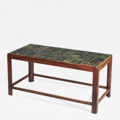 Tiffany Studios Coffee Table with Tiffany Favrile Glass Tile inlay - 1288895