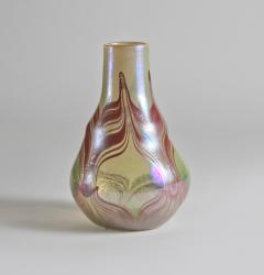 Tiffany Studios Early Decorated Favrile Glass Vase - 131501