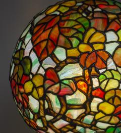 Tiffany Studios Extremely Rare Autumn Leaves Globe Lamp - 1150718