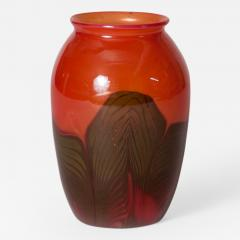 Tiffany Studios Favrile Glass Paperweight Vase - 98093