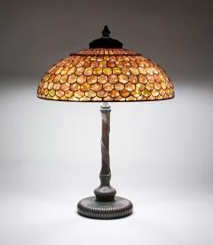 Tiffany Studios Fish Scale Table Lamp - 705465