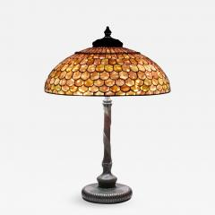 Tiffany Studios Fish Scale Table Lamp - 706776