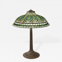Tiffany Studios Gentian Tiffany Lamp - 242811