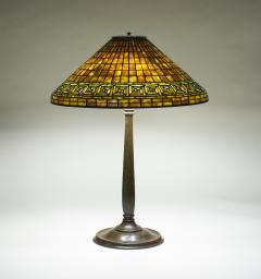 Tiffany Studios Greek Key Table Lamp - 1144514