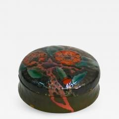 Tiffany Studios Lidded Box with Poppy Design - 1036612