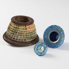 Tiffany Studios Mosaic Inkwell by Tiffany Studios New York - 1121796