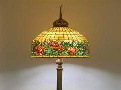 Tiffany Studios Peony Border Senior Floor Lamp - 1041694