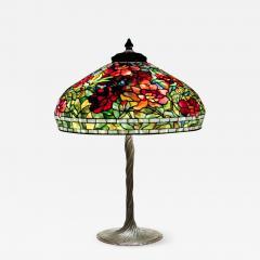 Tiffany Studios Peony Table Lamp - 842572