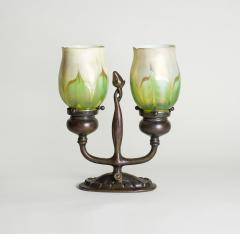 Tiffany Studios Rare Electrified Candle Lamp - 1230293