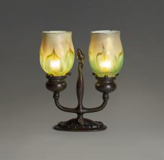 Tiffany Studios Rare Electrified Candle Lamp - 1230299