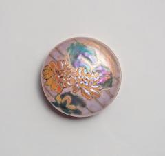 Tiffany Studios Rare Enamel Box with Water Lily Decoration - 1502682