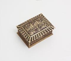 Tiffany Studios Spanish Pattern Utility Box - 674979