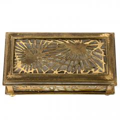 Tiffany Studios Tiffany Studios NY 801 Pine Needle Stamp Box - 1595141