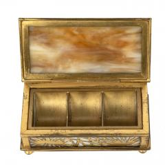 Tiffany Studios Tiffany Studios NY 801 Pine Needle Stamp Box - 1595143
