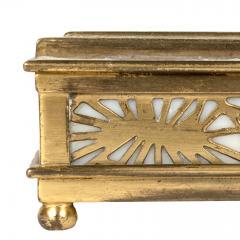 Tiffany Studios Tiffany Studios NY 801 Pine Needle Stamp Box - 1595144