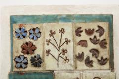 Tile Patchwork on Board - 1156059