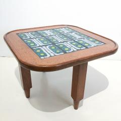 Tile Top Table by Guillerme et Chambron - 1397598